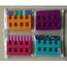 China Reusable Colorful Fake Nails manicure Kit , Nail File With Toe Dividers Kits wholesale