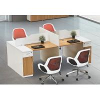 China modern 4 seats office table workstation in warehouse in Foshan wholesale