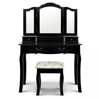 Buy cheap Wooden Makeup Table Professional Dressing Table With Mirror MDF from wholesalers