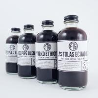 China Clear Glass Boston Round Bottle wholesale