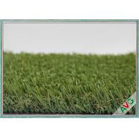 China Outstanding Outdoor Garden Fake Grass 13200 Dtex Fullness Surface With Green Color wholesale