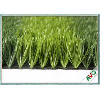 China All Weather FIFA Standard Artificial Soccer Turf  / Artificial Turf Grass For Football on sale