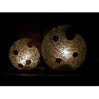 China Matching furniture, Hotel room  Hand Carved Resin Art Deco shabby chic Table Lamps on sale