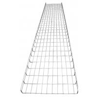 China Indoor electrical industrial straight wire basket mesh cable tray system, 500*50mm wholesale