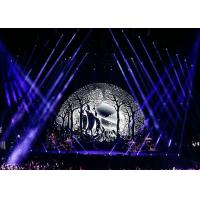 Buy cheap P9.375 Indoor Foldable Flexible LED Screen Wall Display For Stage Background from wholesalers