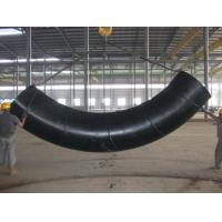 China 90 Degree Welded Induction Carbon Steel / Stainless Steel Tube Bending Round Shape wholesale