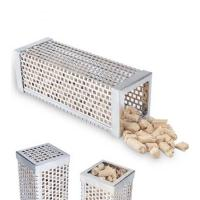 China 12 Inches Stainless Steel Square Smoking Tubes on sale