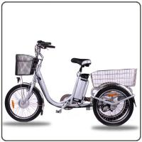 China CE Approved 36V 250W White Electric Tricycles Lithium Battery 3 Wheel Electric Bike wholesale