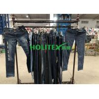 China Mixed Size Used Summer Clothes Second Hand Ladies Jeans Pant For Female on sale