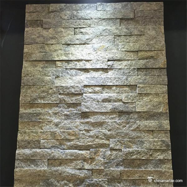 Quality Natural / Cultured Quartzite Stone Veneer Panel Anti - Bacteria Chemical Resistant for sale