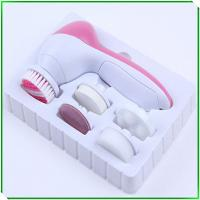 China 5in1 facial brush facial cleansing brush good quality big factory export wholesale