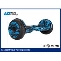 China Voice Alert 10 Inch Off Road Hoverboard Scooter For Entertainment And Sports wholesale