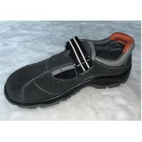 China Genuine Leather Sandal Safety Shoes Oil Resistant With Double Density Pu Outsole wholesale