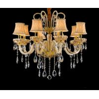 Buy cheap Interesting crystal chandeliers with Lampshade For Home Lighting (WH-CY-107) from wholesalers