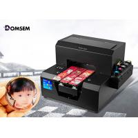 China Card Screen UV Flatbed Printing Machine Digital Industrial Small A4 Size 100 Watt on sale