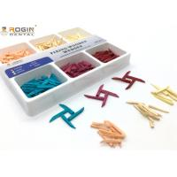 China Disposable Dental Sectional Matrix System Wooden Wedges Dental Kit Colorful For Fixing Tooth wholesale