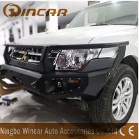 Buy cheap Aluminum 4x4 Off-road Accessories Black Front Winch Bumper For Pajero V93 from wholesalers