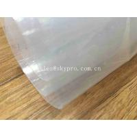 China Transparent Sticky Silicone Rubber Sheet Rolls Medical Grade Customized wholesale