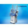 China Four Handles Fat Freezing Machine With Vacuum , Cryolipolysis Body Slimming Machine wholesale