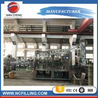 China Pet Bottle Soft Drink Water Carbonated Drinks Filling Machine Washing Filling Capping Machine wholesale