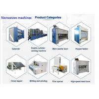 China Non Woven Needle Punching Production Line Substrate Layer Use on sale