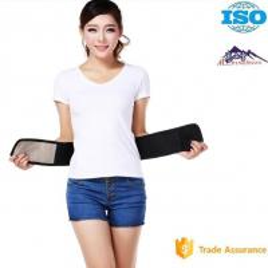 China Waist Disease Magnetic Lumbar Support Belt Self - Heated Tourmaline Cloth Material wholesale