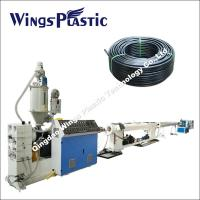 China High- density Polyethylene Pipe Production Line , Plastic Water Pipe Plant on sale