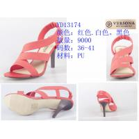China Versona Brand High Heel Sandals In Stock 9000 pairs/3 colors wholesale