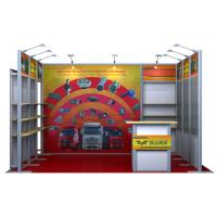 3 X 4 Modular Exhibition Display Stands Aluminum Booth For Trade Show