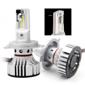 China DC 12 - 24 V Led Car Headlight Bulbs , High Low Beam Led Headlights wholesale