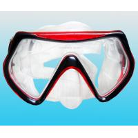 China Silicone diving mask watersport swimming face mask diving product/equipment on sale