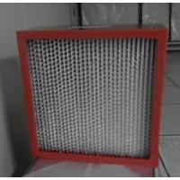 China High Temperature HEPA Filter for Clean Room (HT-1) on sale