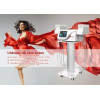 China 4d Fat Off Diode Lipo Laser Slimming Machine For Beauty Salon Long Working Life wholesale