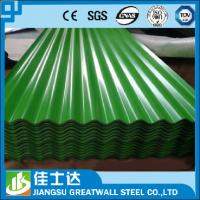 China SGCC,DX51D,JIS,ASTM/Zinc 33% Corrugated metal Sheet / Zinc Aluminum Metal Roofing Panels wholesale