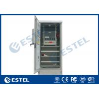 Buy cheap Temperature Control Outdoor Telecom Cabinet  IP55 Ingress Protection With Generator Socket from wholesalers