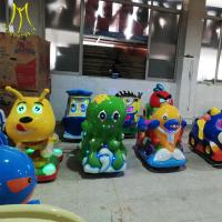 China Hansel  coin operated toy  fiber glass game machine kiddie rides used kiddie rides for sale wholesale