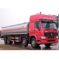 China Carbon steel , stainless steel , Aluminum 25000L fuel tank trailer / tank truck transport wholesale