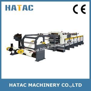 China Solid Bleach Sulphite Board Sheeting Machinery,Aluminum Foil Paper Sheeting Machine,Newspaper Cutting Machine wholesale