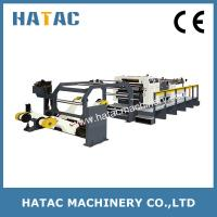 China Automatic Solid Bleach Sulphite Board Sheeting Machine,Productive Paperboard Cutting Machine,Roll-to-sheet Cutting wholesale