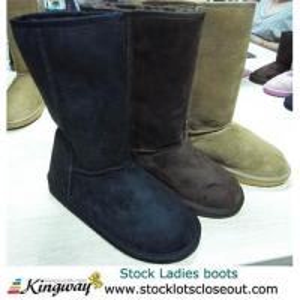 China Closeout,stocklot,overstock,liquidators,surplus Ladies boot on sale