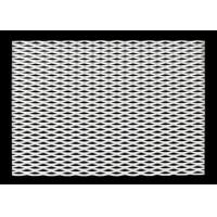 China Diamond Hole Expanded Metal Lath Stainless Steel Firm Thick For Security wholesale