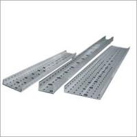 China Customized Light weight galvanized FRP / GRP Perforated Cable Tray with high stiffness wholesale