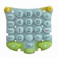 China Silicone Rubber Keypad for Electronic Products, Harmless to Body wholesale