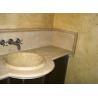 China VanityTops - Light Travertine Vanity Tops For Bathroom Decoration wholesale