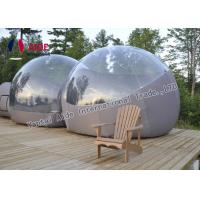 China Semi - Transparent PVC Inflatable Event Tent Outdoor Bubble Tent Customized wholesale