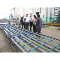 China Adjustable Thick Roof Sheet Forming Machine , Roller Extruding Tiles Manufacturing Machine wholesale