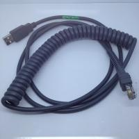 Quality 15ft Coiled USB Barcode Scanner Cable for Symbol LS2208 for sale
