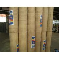 China PVC Coated Wire Mesh Rolls 3mm / 4mm Thickness Galvanised Welded Wire Mesh Panels wholesale
