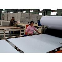 China Fully Automatic PVC and Aluminum Foil Laminated Gypsum Ceiling Production Line wholesale