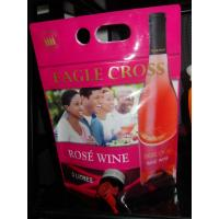 China Reusable Laminated Stand Up Pouch With Spout For Red Wine , Grape Wine on sale